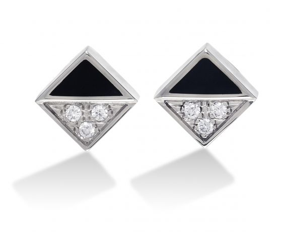 Seven Hills Stud Earrings
