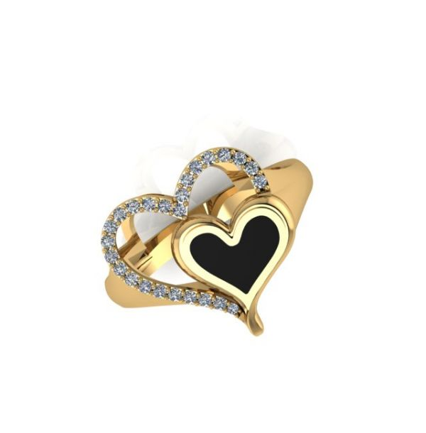 Heart Embrace Ring